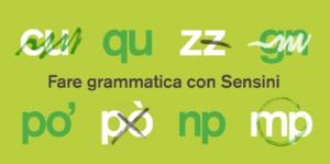 Fare grammatica con Sensini
