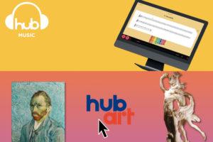 HUB Art e HUB Music: due piattaforme pensate per il docente